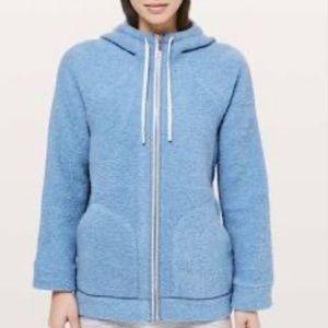 Lululemon So Sherpa Women's Zip Up Jacket Size 6